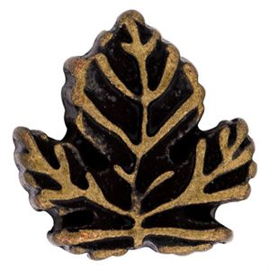 Picture of Gold Fall Leaf Charm